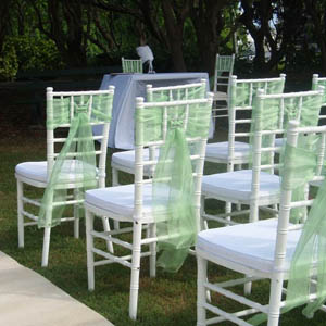 Chair hire for Weddings