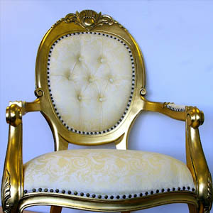 Gold chair hire